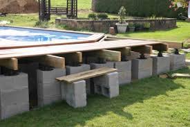 piscine hors sol bois semi enterr recherche projets à