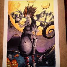 Halloween Town Sora by Just Finished Up My First Halloween Drawing A Little Halloween