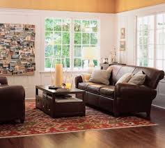 Brown Leather Sofa Living Room Ideas by Living Room Ideas With Leather Furniture 1000 Ideas About Leather