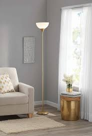 Mainstays Floor Lamp With Reading Light by Amazon Com Mainstays Metal Floor Lamp Gold Cell Phones