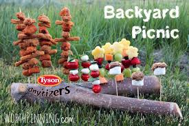 Worth Pinning: #Ad Backyard Picnic + Tyson & A Movie = Great ... Urban Pnic 8 Small Backyard Entertaing Tips Plan A In Your Martha Stewart Free Images Nature Wine Flower Summer Food Cottage Design For New Cstruction Terrascapes Summer Fun Have Eat Out Outside Mixed Greens Blog Best 25 Pnic Ideas On Pinterest Diy Table Chris Lexis Bohemian Wedding Shelby Host Your Own Backyard Decor Tips And Recipes
