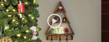 How To Make A Decorative Holiday Tree Shelf