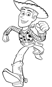 Pictures Of Woody From Toy Story Coloring Pages Coloring Pages