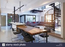 100 Luxury Modern Interior Design Modern Loft Apartment Interior 3d Rendering Concept Stock