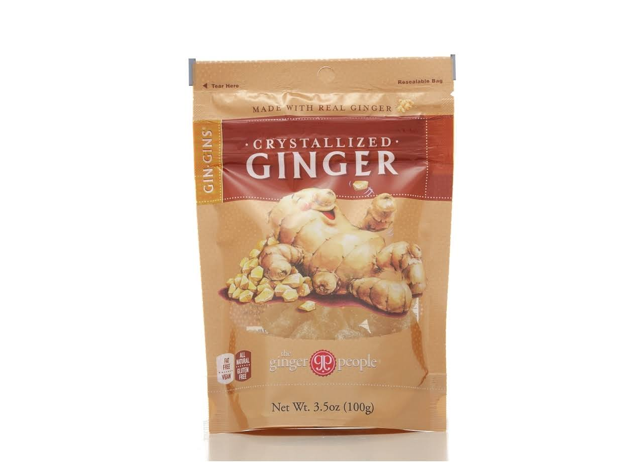 Ginger People Gin Gins Crystallized Ginger - 3.5 oz