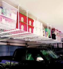 garage overhead storage systems and hoists organize it