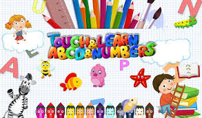 Touch Learn ABCD Numbers Android Casual App Source Code