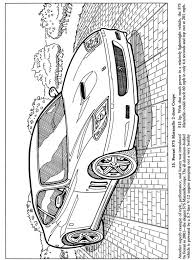Classic Cars Coloring BookDover Publications