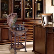 Globe Liquor Cabinet Antique by Amazon Com Nex Ht Kf304g L Globe Wine Bar Wood Kitchen U0026 Dining