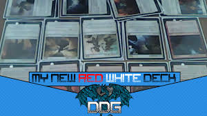 Mtg Red White Deck by Magic The Gathering A Look At My Red White Deck Youtube