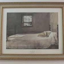 Master Bedroom Framed Art Print By Andrew Wyeth Artcom