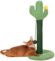 chunlan kratzbaum klettern kaktus natürliches sisal katzen