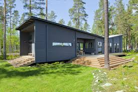 100 Minimalist Cabins Modern Log Cabin Home Kits By HONKA Prefab Log Cabin Kits In