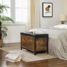 vasagle sitzbank lsc80bx betttruhe schlafzimmer vintage kaufen otto