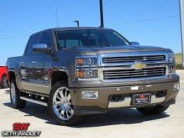 Used 2014 Chevy Silverado 1500 High Country 4X4 Truck For Sale Pauls ...