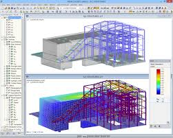 structural analysis and design software for power plants dlubal