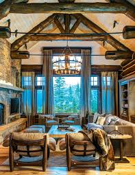 Mountain Home Decorating Ideas Simply Simple Image On Bcfddca Montana Homes Ranch Jpg