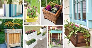 32 Best Diy Pallet And Wood Planter Box Ideas Designs For 2017