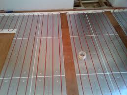 nuheat floor heat mat electric radiant heating reviews in concrete