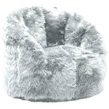 Big Fluffy Bean Bag Digitalharbor White Fur Chair Faux Large