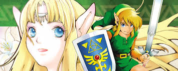 Viz Artwork by Viz The Legend Of Zelda Manga
