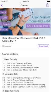 User guide for iPhone & iPad on the App Store