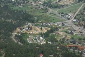 Manor RV Park In Foreground