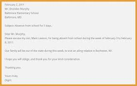 Excuse Letter for School format – thepizzashop
