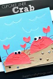 Cake Ideas For Womens 50th Birthday Cupcake Liner Crab Craft Kids Summer Fun Stuff To D