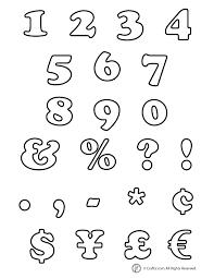 Bubble Letter Numbers Letters Font