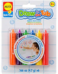amazon com play visions crayola bathtub crayons 9 count plus one