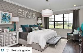 Property Brothers Beautiful neutral master with pops of color