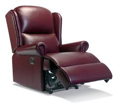 Reclining Salon Chair Uk by Sherborne Malvern Leather Manual Recliner Leather Recliners