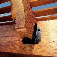 Black Decorative Joist Hangers by 6 8