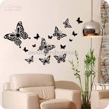 Wholesale WALL DECOR HOME STICKERS BUTTERFLY PATTERN BABY ROOM