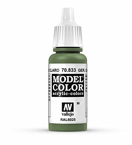 Vallejo Model Color Acrylic-Colors - 70.833 German Camouflage, 17ml