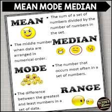 mode median and range mode median and range poster and assignments by runde s room