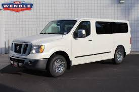 2016 Nissan NV Gasoline With Leather Seats