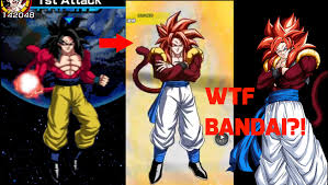 When Bamco Reuses The Ssj4 Goku Sprite For Gogeta DBZDokkanBattle