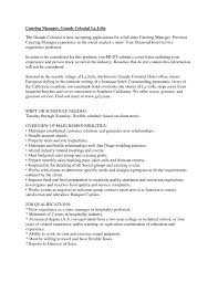 Catering Manager Resume - Template Ideas Resume Sales Manager Resume Objective Bill Of Exchange Template And 9 Character References Restaurant Guide Catering Assistant 12 Samples Pdf Attractive But Simple Tricks Cater Templates Visualcv Impressive Examples Best Your Catering Manager Must Be Impressive To Make Ideas Sample Writing 20 Tips For