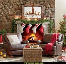 Rustic Christmas Decorations Decorating Ideas