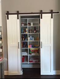 Sliding Barn Door Style Pantry Doors Door ly by RussBuilders