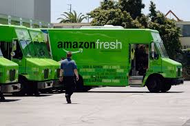 Robo Vans, More Automation Could Help Amazon Grocery Reach Breakeven Amazons New Delivery Program Not Expected To Hurt Fedex Ups Cnet Amazon Delivery Fail Amzl Drives In Yard Then Amazonfresh Rolls Into San Diego The Uniontribune Grocery Business Quietly Expands Parts Of New Putting Fedex Out Business Start Shipping Company Adds Tool Its Own Truck Trailers Chicago Tribune Threat Tries Its Own Deliveries Wsj Tasure Truck Is Coming Whole Foods Parking Lots Eater Amazoncom Postal Service Kids Toy Toys Games Has Changed The Way You Shop For Food Consumer Reports Prime Members Now Have Access Car Service Will Kill