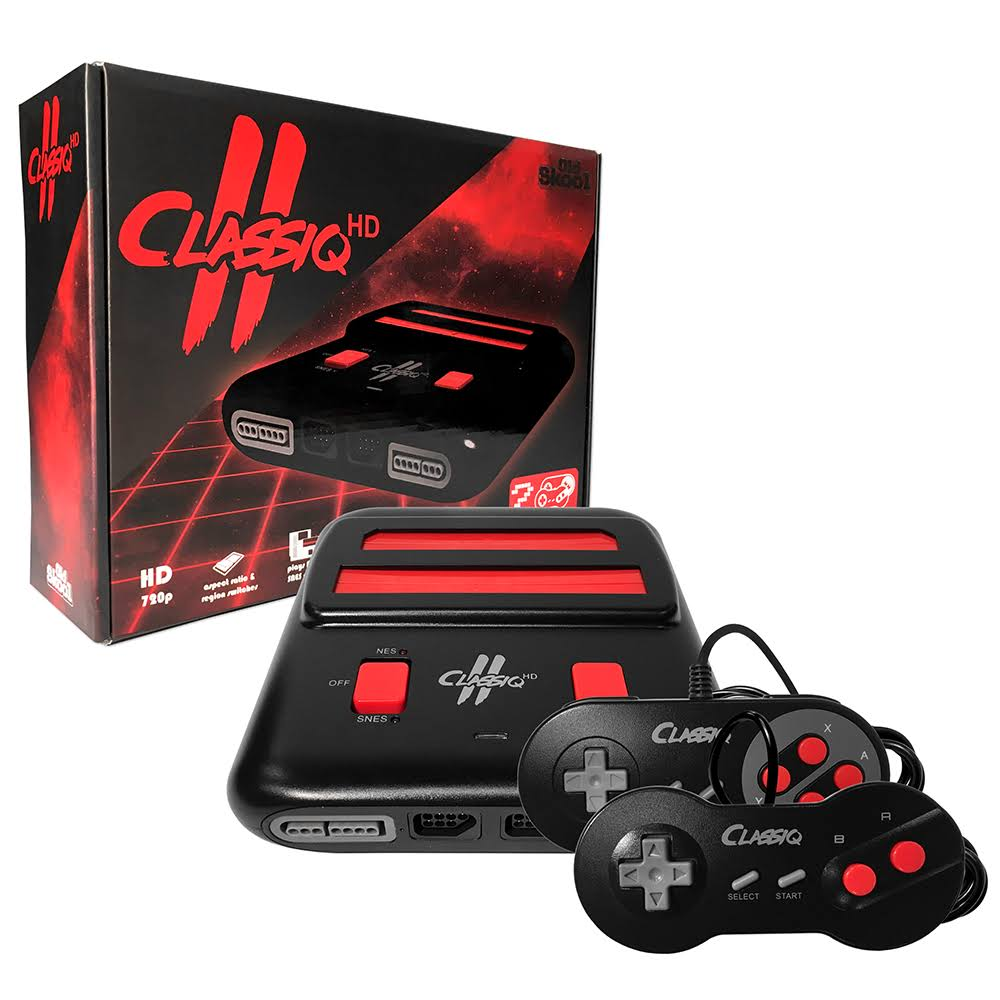 Old Skool Classiq 2 HD - Black/Red