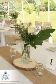 Rustic Wedding Centerpiece By LUXE Weddings And Events In London Ontario