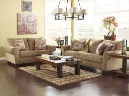 aldo cottage light brown fabric sofa loveseat set living