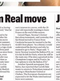 Only Just Noticed The Same Article Which Credits Spanish Newspaper Dario Gol