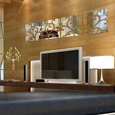 32pcs geometrie wandtattoo spiegel aufkleber wohnzimmer wand