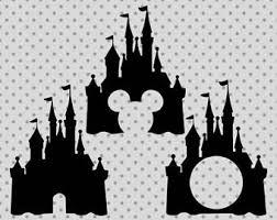 Disney Castle Pumpkin Pattern by Disney Castle Svg Etsy