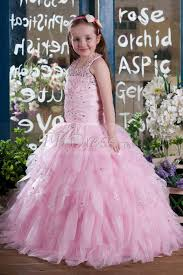 aliexpress luxury bling toddler ball gown